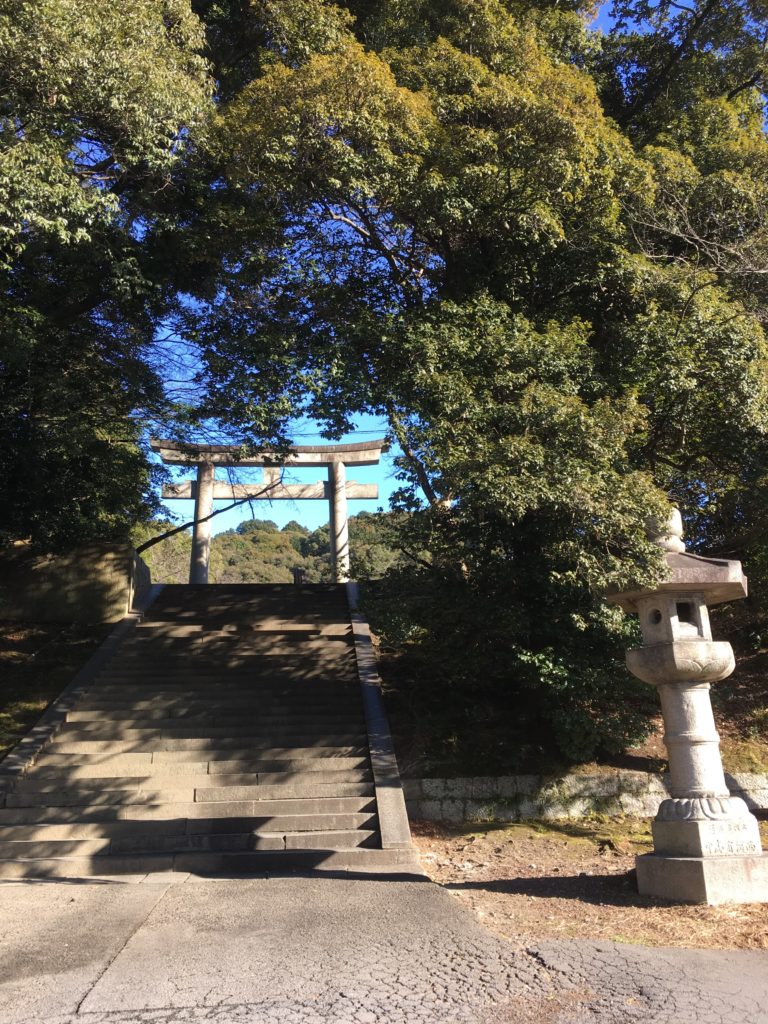 豊国廟の鳥居