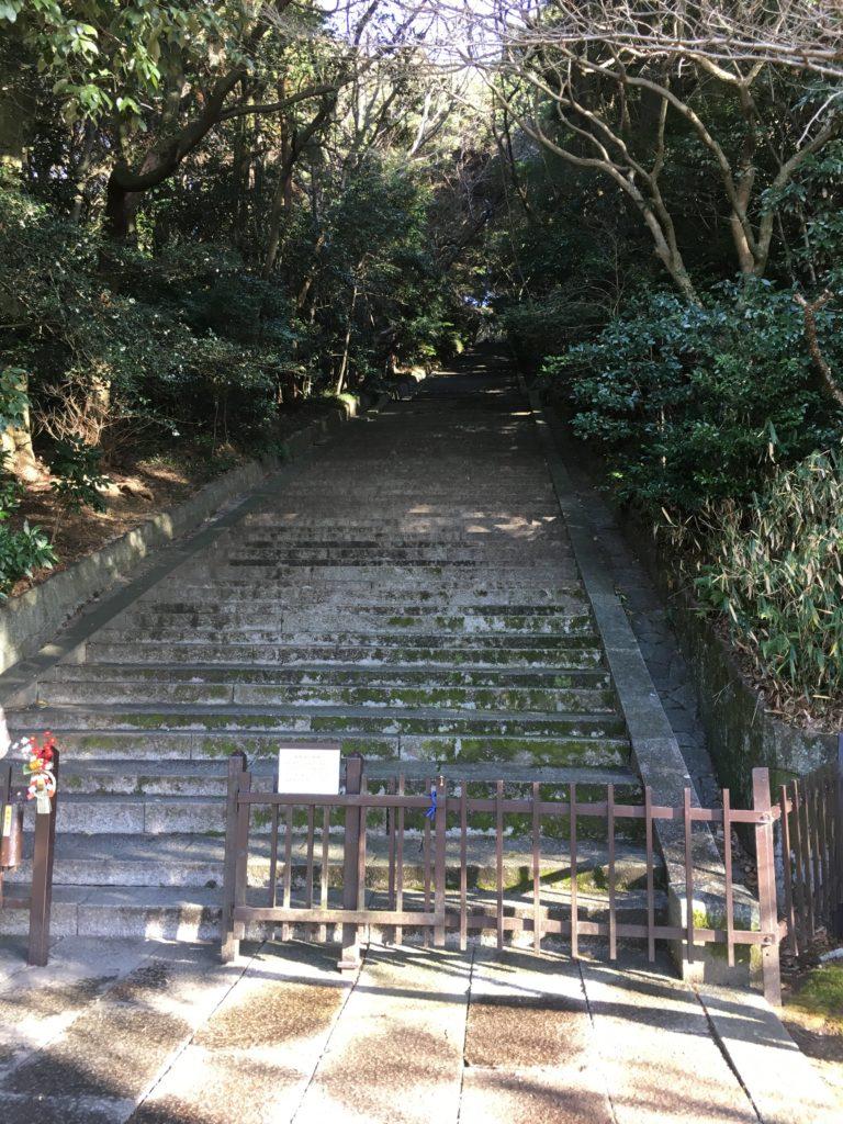 豊国廟の入り口