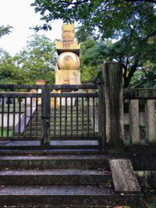 豊国廟の五輪石塔