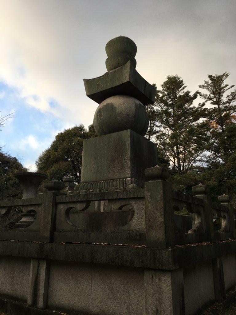 豊国廟 五輪石塔