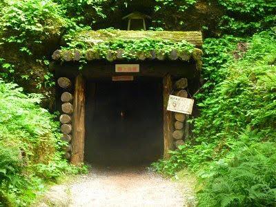 石見銀山へ行く道