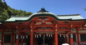 淡嶋神社 本殿