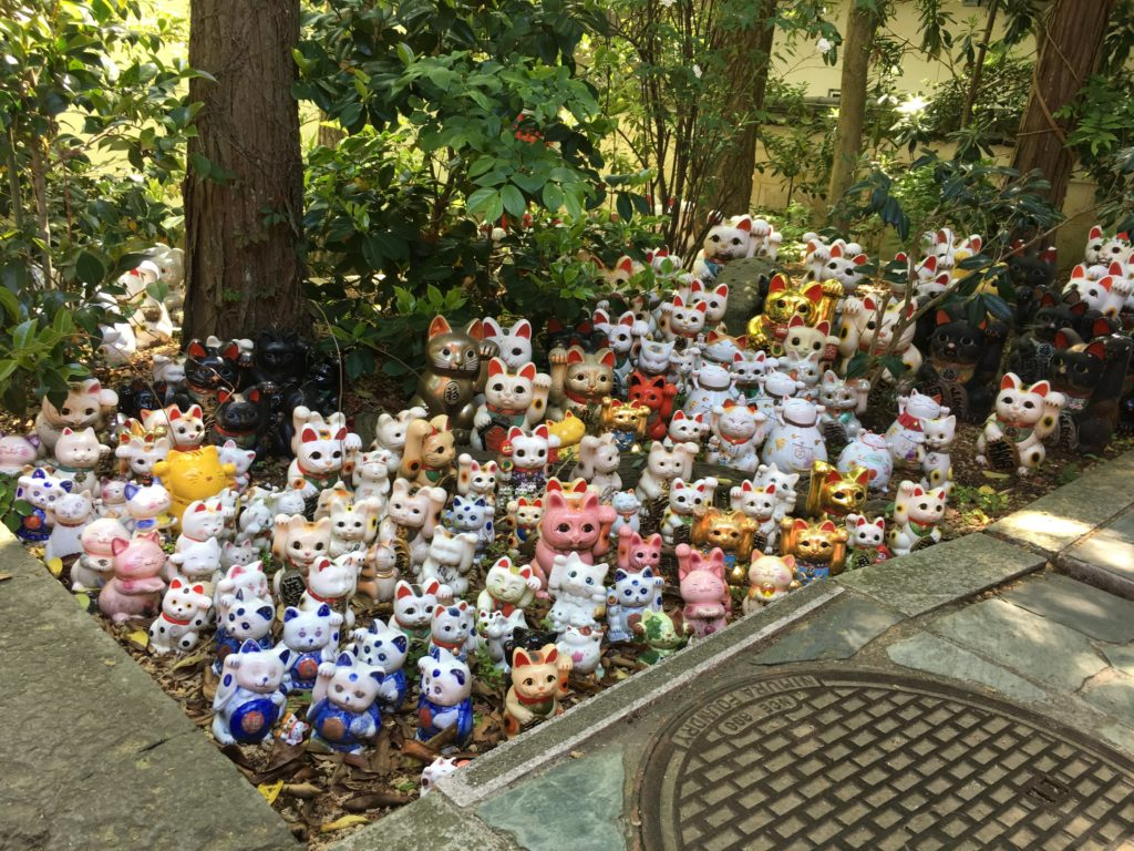 淡嶋神社 招き猫