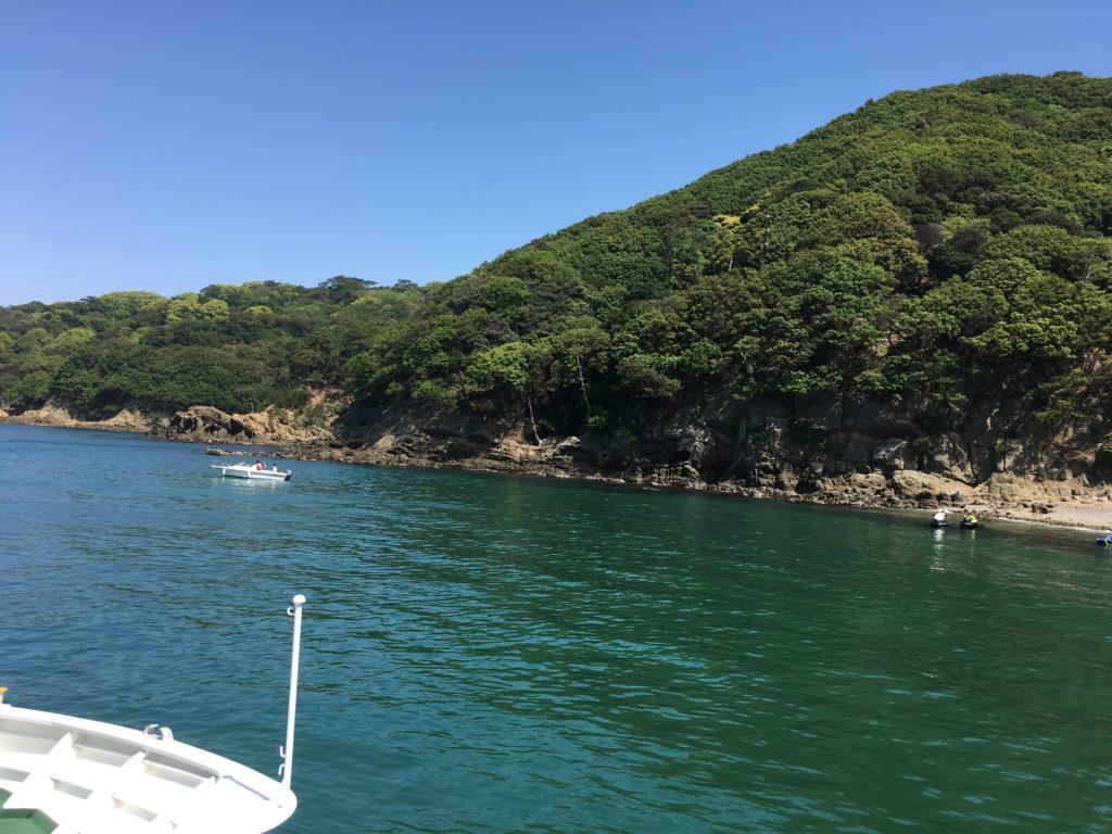 友ヶ島に着きましたー。