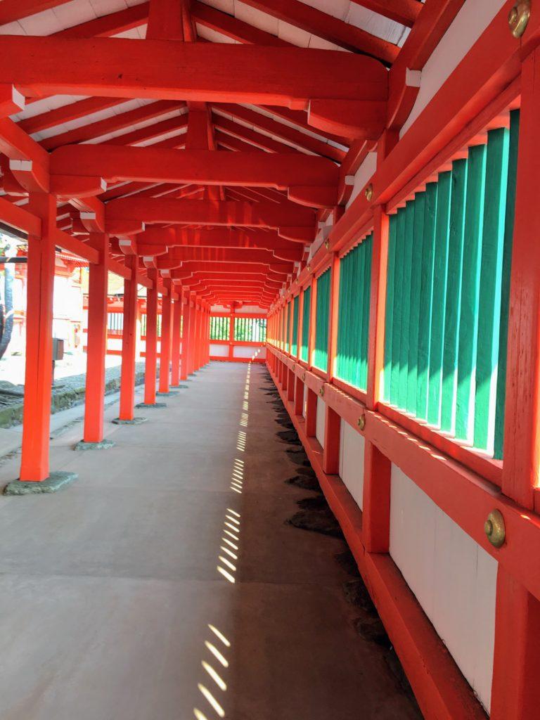 日御碕神社 回廊