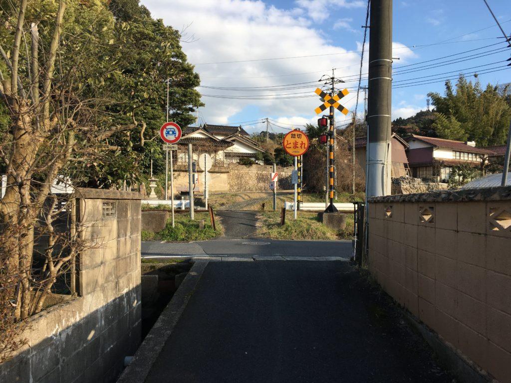 八本杉から斐伊神社へ