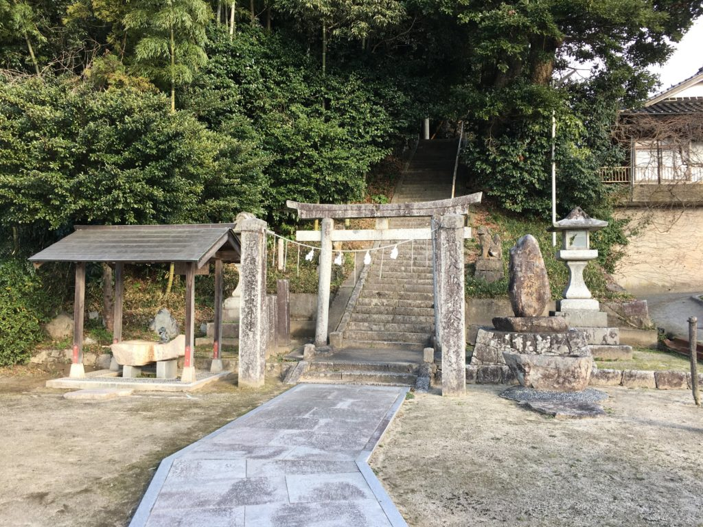 斐伊神社に着きました