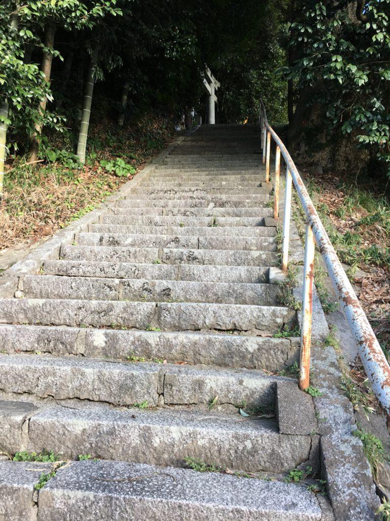 斐伊神社 階段