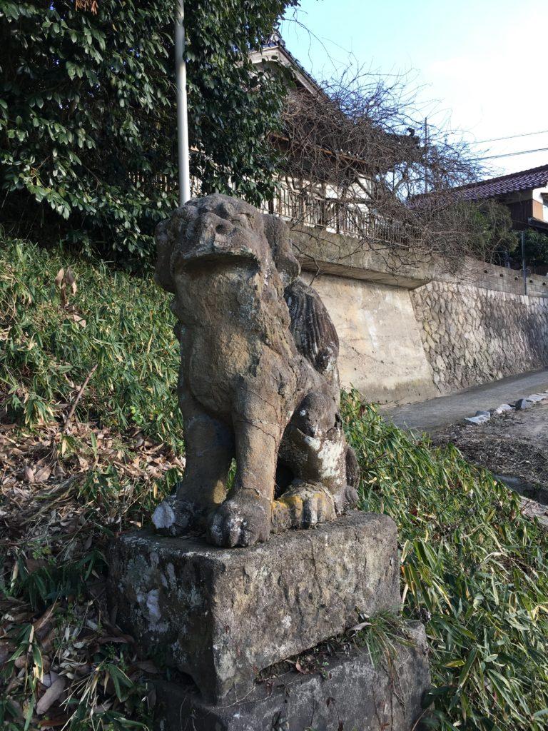 斐伊神社 狛犬