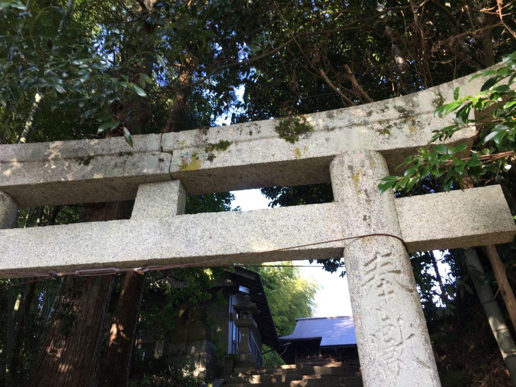 斐伊神社 鳥居
