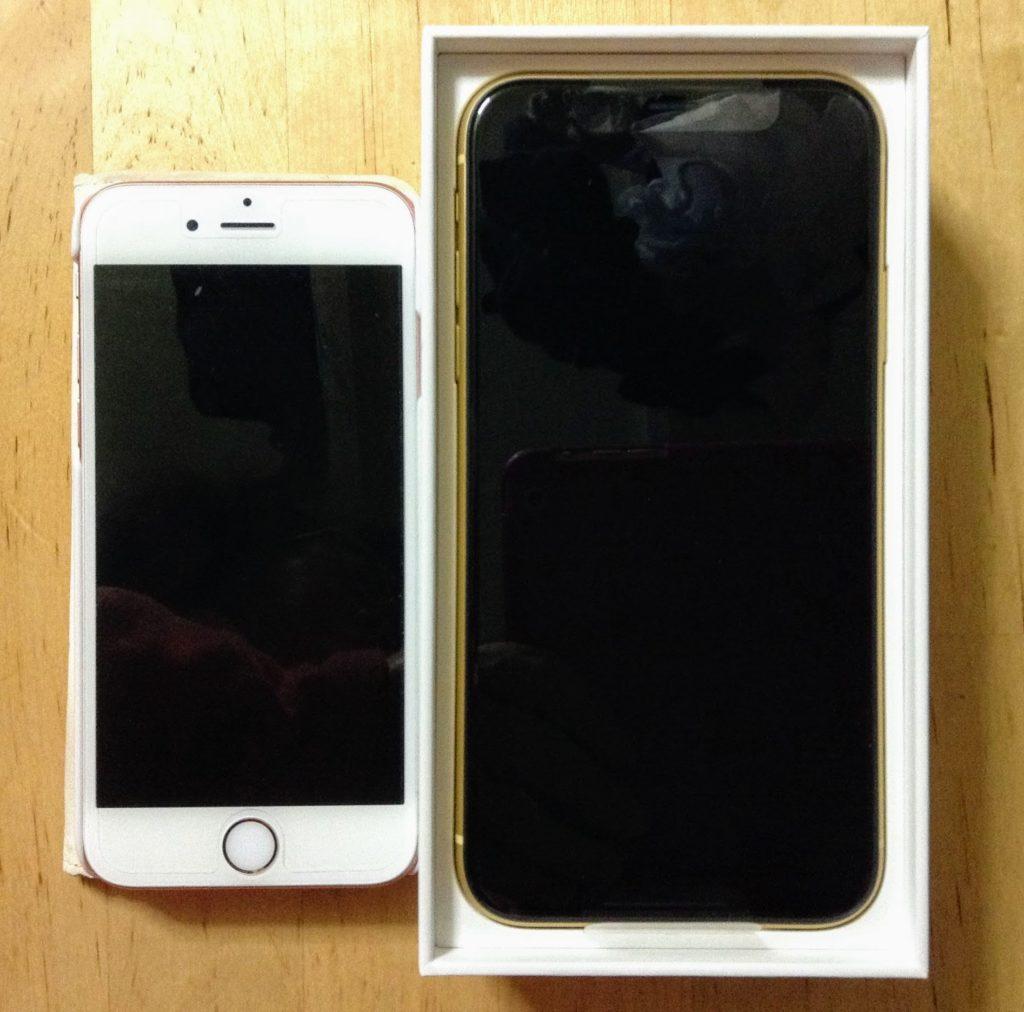 iPhone6sとiPhoneXR