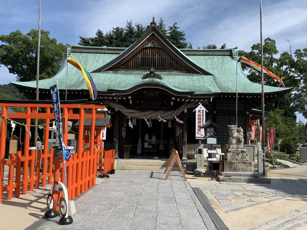 大山神社の本殿