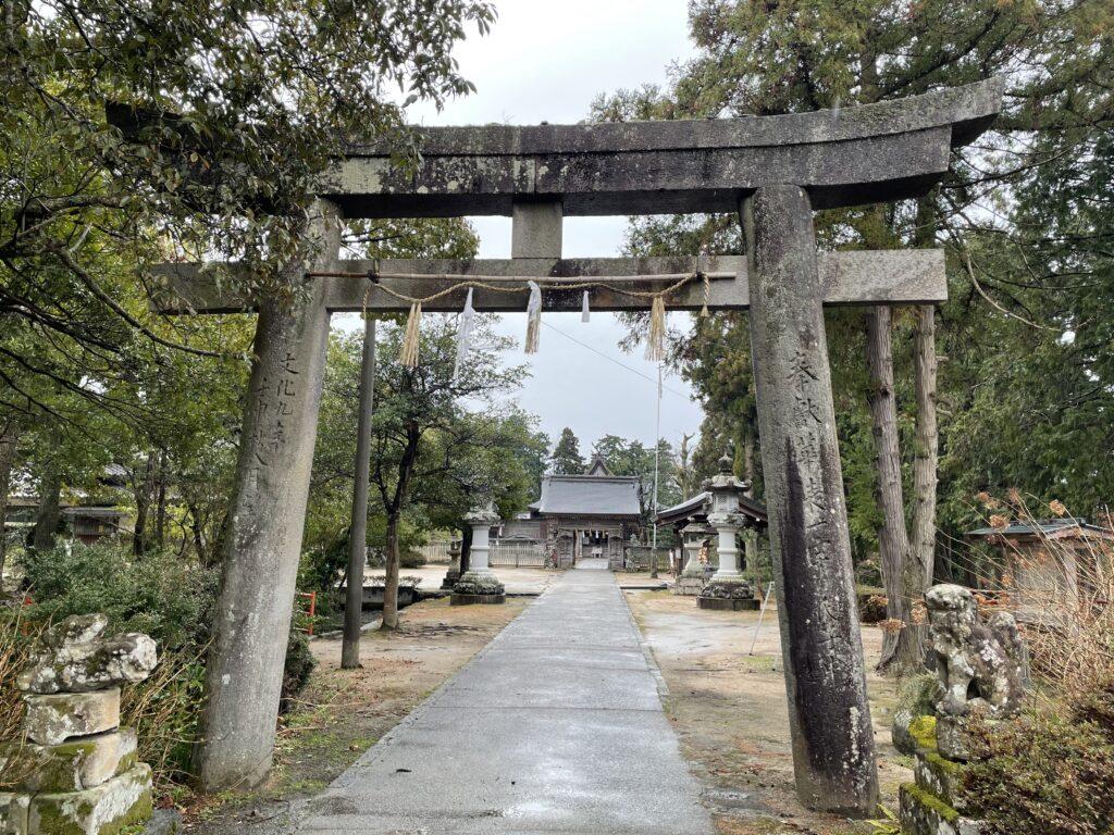 大神山神社 鳥居