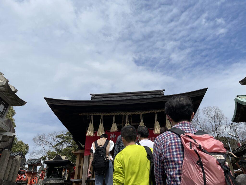 稲荷山山頂・一ノ峰(上社神蹟)