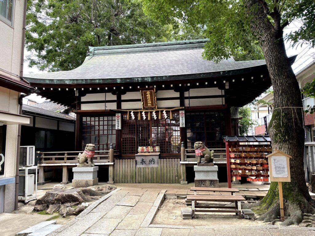 安倍晴明神社 本殿(2021年6月12日)
